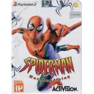 بازی SpiderMan 3 Merchandising مخصوص  PS2
